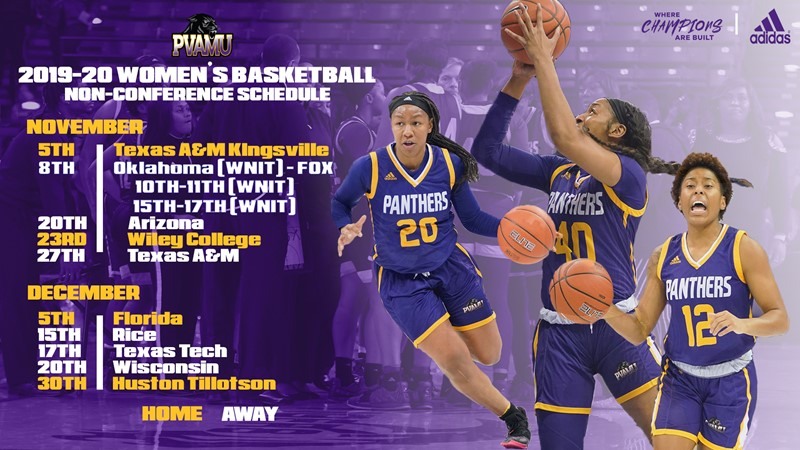 Lady Panthers Announces 2019-20 Basketball Schedule