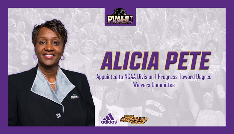 Pete appointed to NCAA Progress Toward Degree Waivers Committee - Prairie View A&M University Athletics